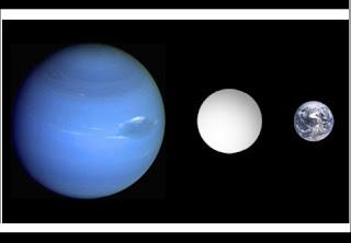 Astrónomos europeus anunciaram hoje a descoberta de um sistema planetário com três super-Terras em órbita de uma estrela anã brilhante, sendo que um deles parece ser um planeta de rochas vulcânicas derretidas. O sistema com quatro planetas está no hemisfério norte da constelação Cassiopeia, tendo a forma de um M e estando a 21 anos-luz da Terra, adiantaram os investigadores da revista europeia Astronomy & Astrophysics.