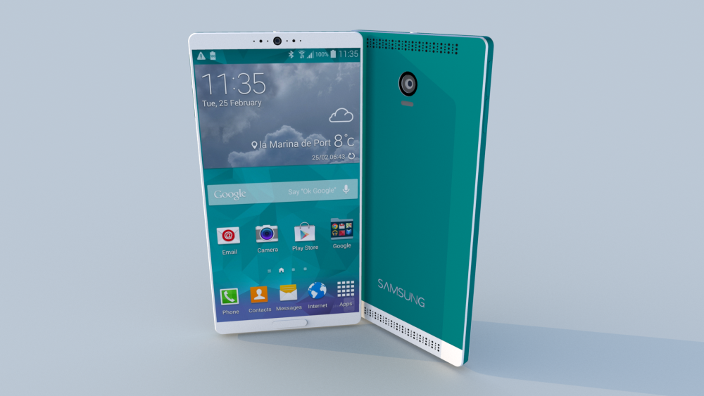 This concept shows us the future of Samsung Galaxy S6