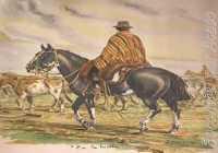 Os ponchos e as palas fazem parte das pilchas gaúchas.