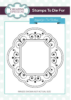 Creative Expressions UMS692 Stamp