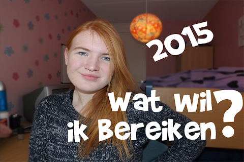 Wat wil ik bereiken? 2015