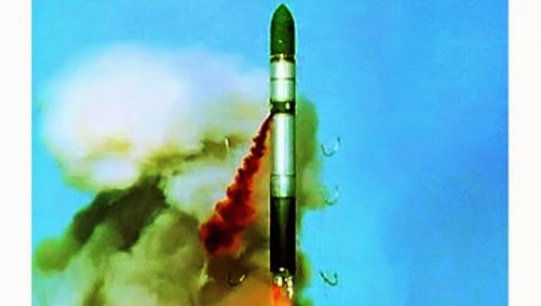 Pengaktifan rudal milik Rusia generasi terbaru R-36M2 Voyevoda atau SS-18 ICBM.