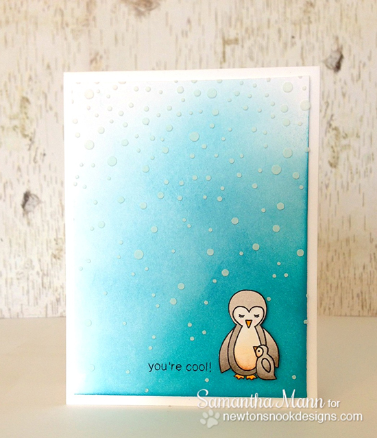 You're Cool - Penguin Card by Samantha Mann | Newton's Nook Designs