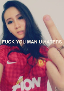 Manchester United girl from Singapore
