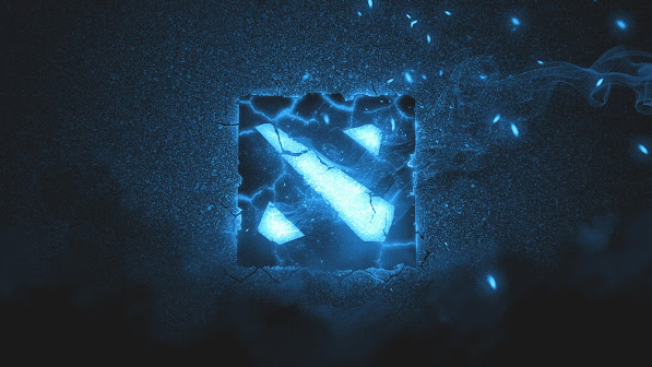dota 2 logo game hd wallpaper 1920x1080