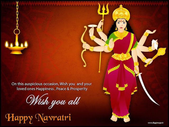 Wish you  and your loved ones Happiness , Peace & Prosperity Happy Navaratri