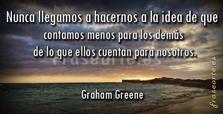 Frases famosas de Graham Greene