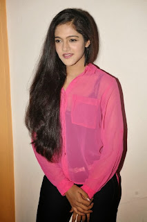 Actress Simran Choudhary Picture Gallery in Black Jeans at Hum Tum Movie Teaser Launch  0016