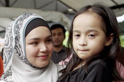 Amira Ceria Jumpa Siti Nurhaliza Keluarga Terus Terima Kunjungan