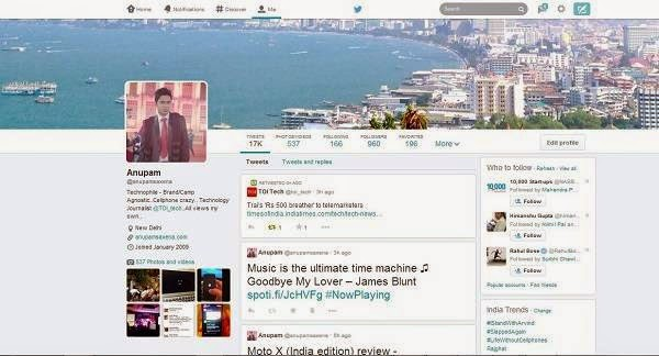 Twitter rolling out new profile design
