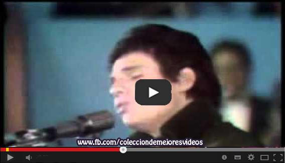 Vídeo Musical, José José, El triste,  II festival de la canción latina en 1970