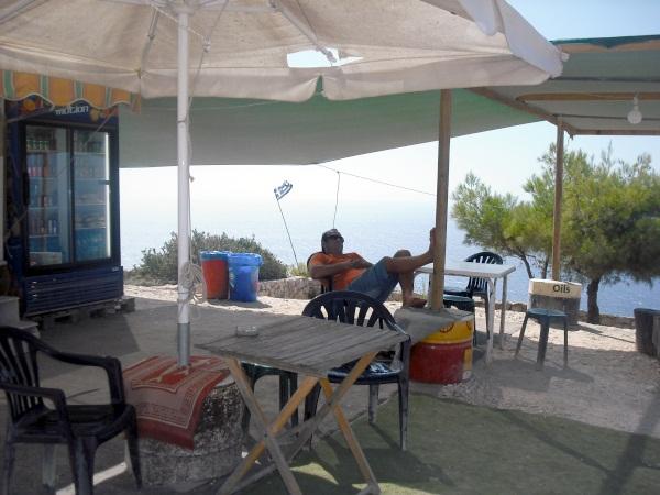 Bar grecki na Zakyntos