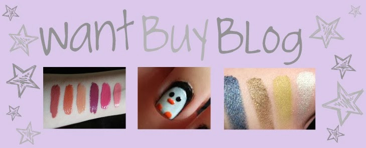 Want, Buy, Blog!