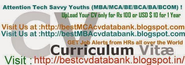 Best BE CV Data Bank