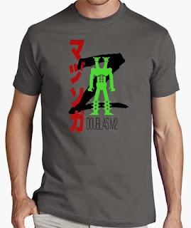 camiseta mazinger z boss doublas m2
