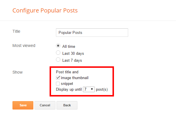 Customize Popular Posts Plugin