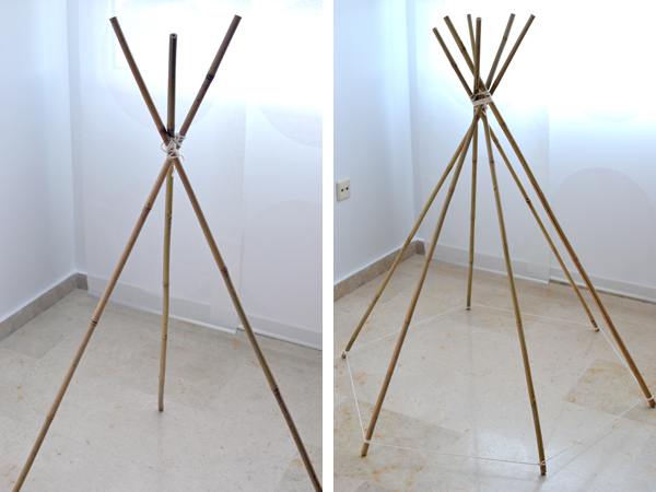 la chica de la casa de caramelo diy tipi indio para ni os. Black Bedroom Furniture Sets. Home Design Ideas