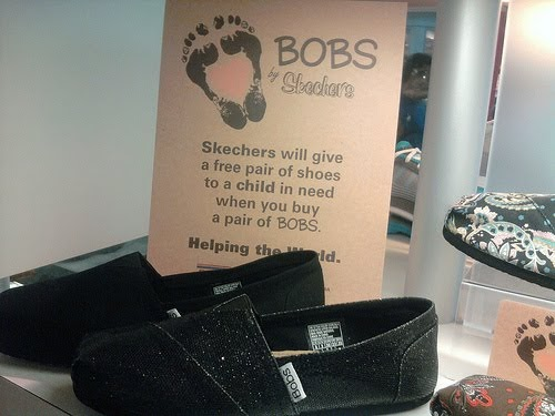 toms vs bob s Toms vs bobs bobs is brand-new line of shoes made by the well-known footwear company, sketchers sketchers has already established their customer market.