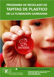 Junta tapitas de plástico para los nenes del Garrahan
