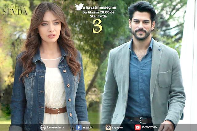 مسلسل حب أعمى Kara Sevda الحلقة 3 مترجم إلى العربية