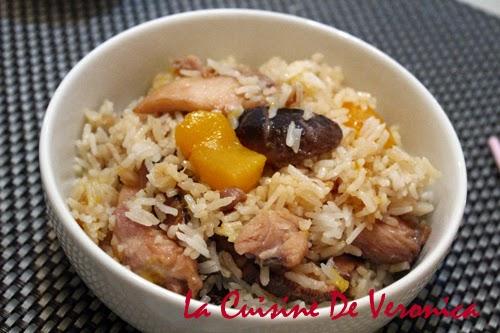 La Cuisine De Veronica 南瓜雞肉飯