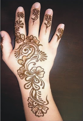 Henna designs for hands arabic for kids easy step by step for Henna tattoo for kids