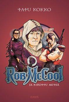 Rob McCool ja Kirottu metsä kustantajan sivuilla