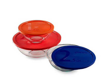 Bed Bath And Beyond Pyrex Bowls With Lids