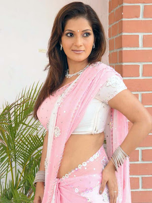 ruthika in saree