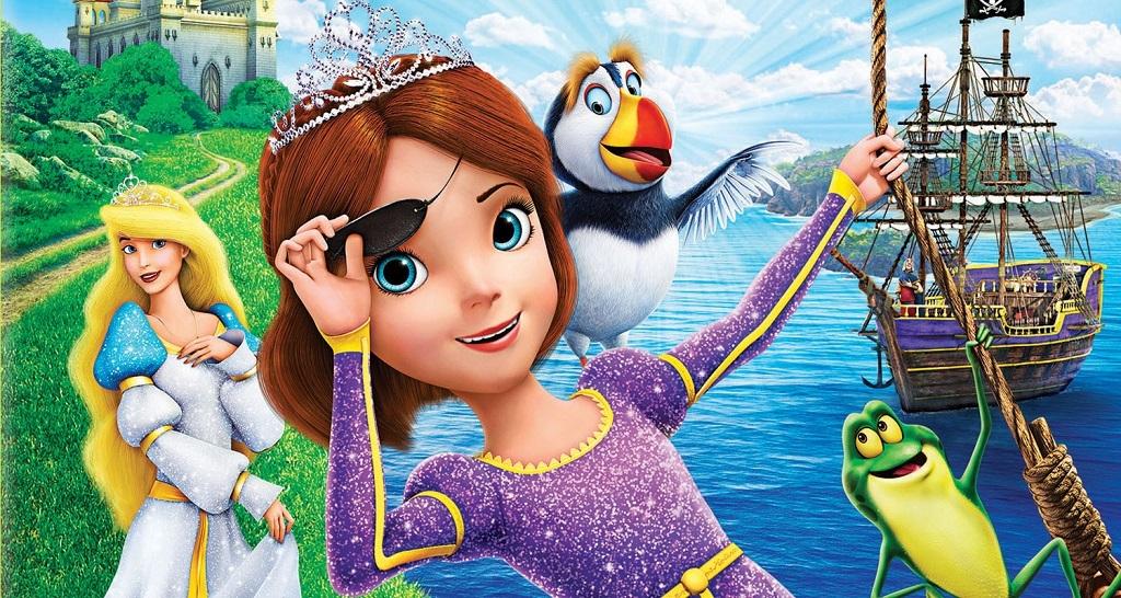 Princesa Encantada - Princesa e Pirata DVD Torrent Imagem