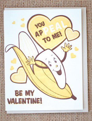Leilasthings cheesy corny valentine 39 s for Cute valentine day cards