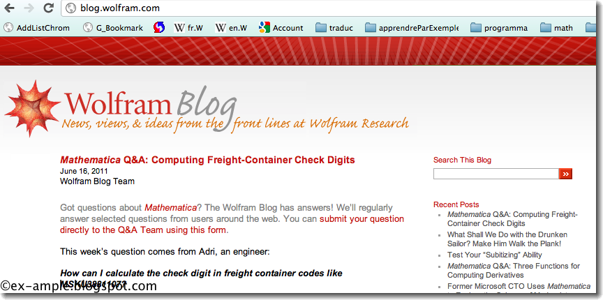 Wolfram Blog News and Ideas from Wolfram Research