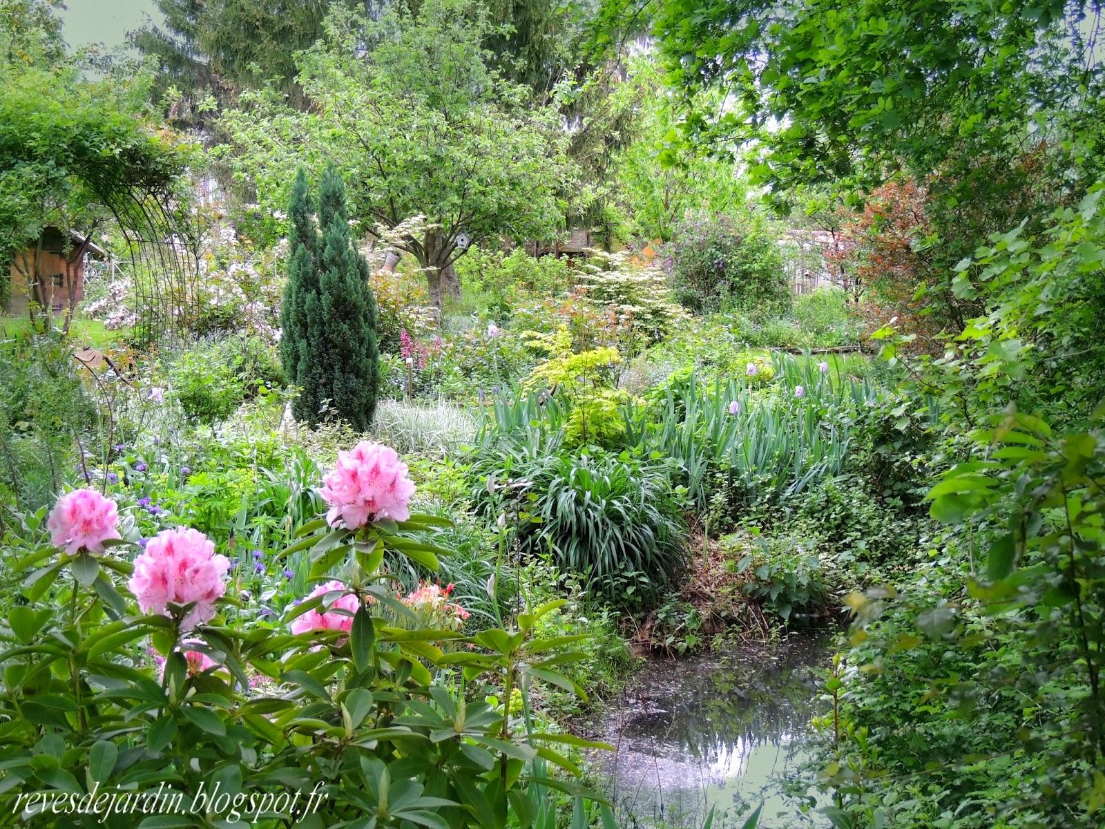 Il etait un petit jard 39 ain poesie jardiniere - Faire une mare dans son jardin ...