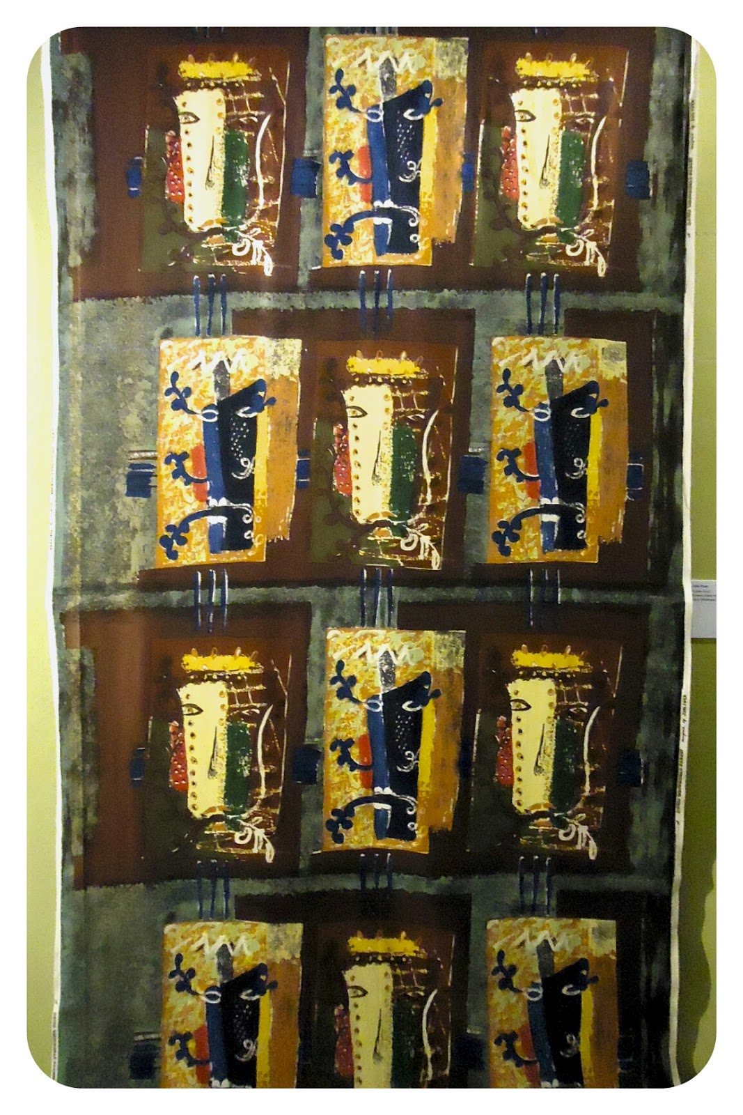 John Piper's Foliate Head fabric