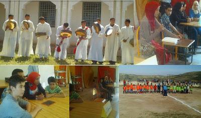 تاونات: اعدادية 2مارس بعين لكدح تنشط الحياة المدرسية بايام ثقافية وفنية ورياضية الاولى