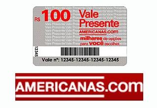 Concorra a 5 Vale-compras de R$ 100,00