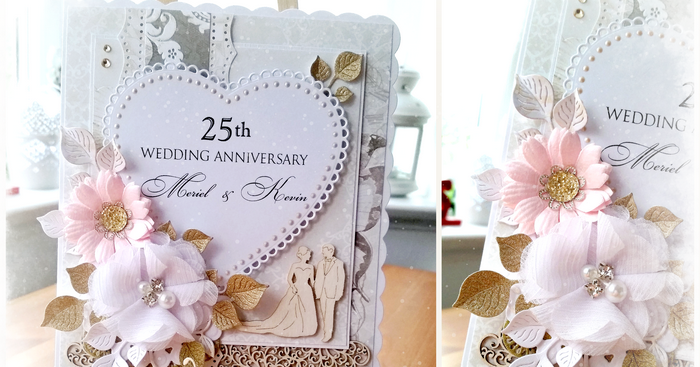 1 Year Wedding Gift Rule : Scrap and Craft: Wedding Anniversary card