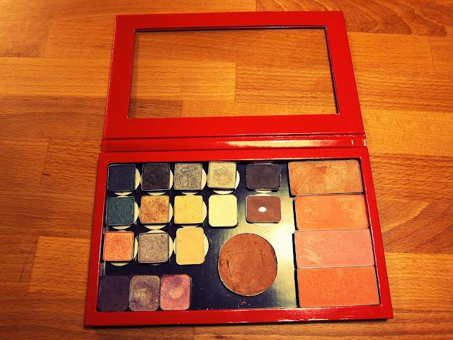 z palette isadora smink blush rouge ögonskugga eye shadow bronzer
