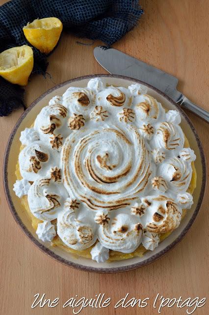 crêpes meringue italienne lemon curd