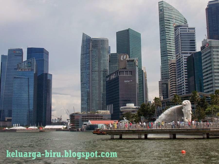 Pemandangan dari Singapore River Cruise