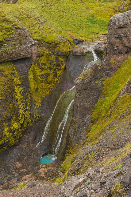 Kartki z Podróży - Wodospady na Islandii