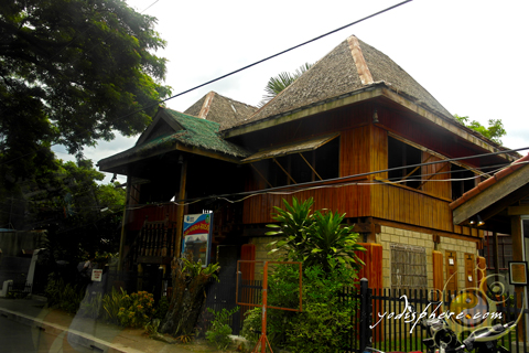 Lovely traditional Filipino house or bahay kubo of the late Philippine President Manuel L. Quezon