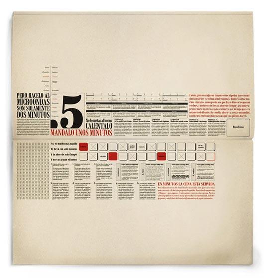 Typographic Brochure Design