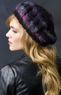 Free Pattern: Reveal: Slouchy Beret