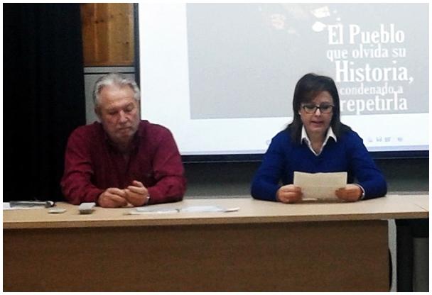 Conferencia con Pedro Luis Meléndez González