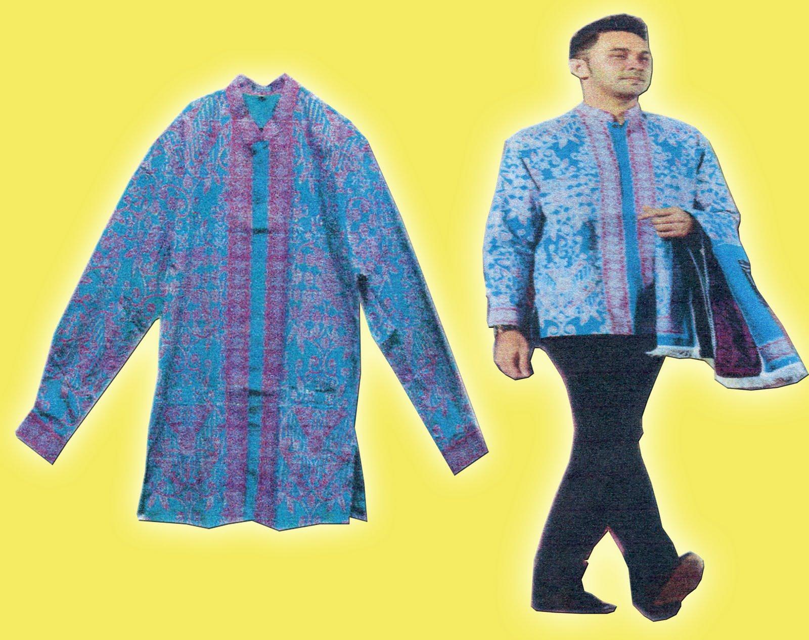 HumasLebong (13/4) - Berikut contoh Busana batik jamaah Haji Indonesia