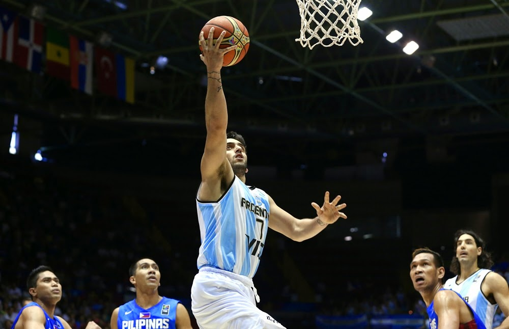 Argentina def. Gilas Pilipinas, 85-81 (VIDEO)  FIBA World Cup 2014