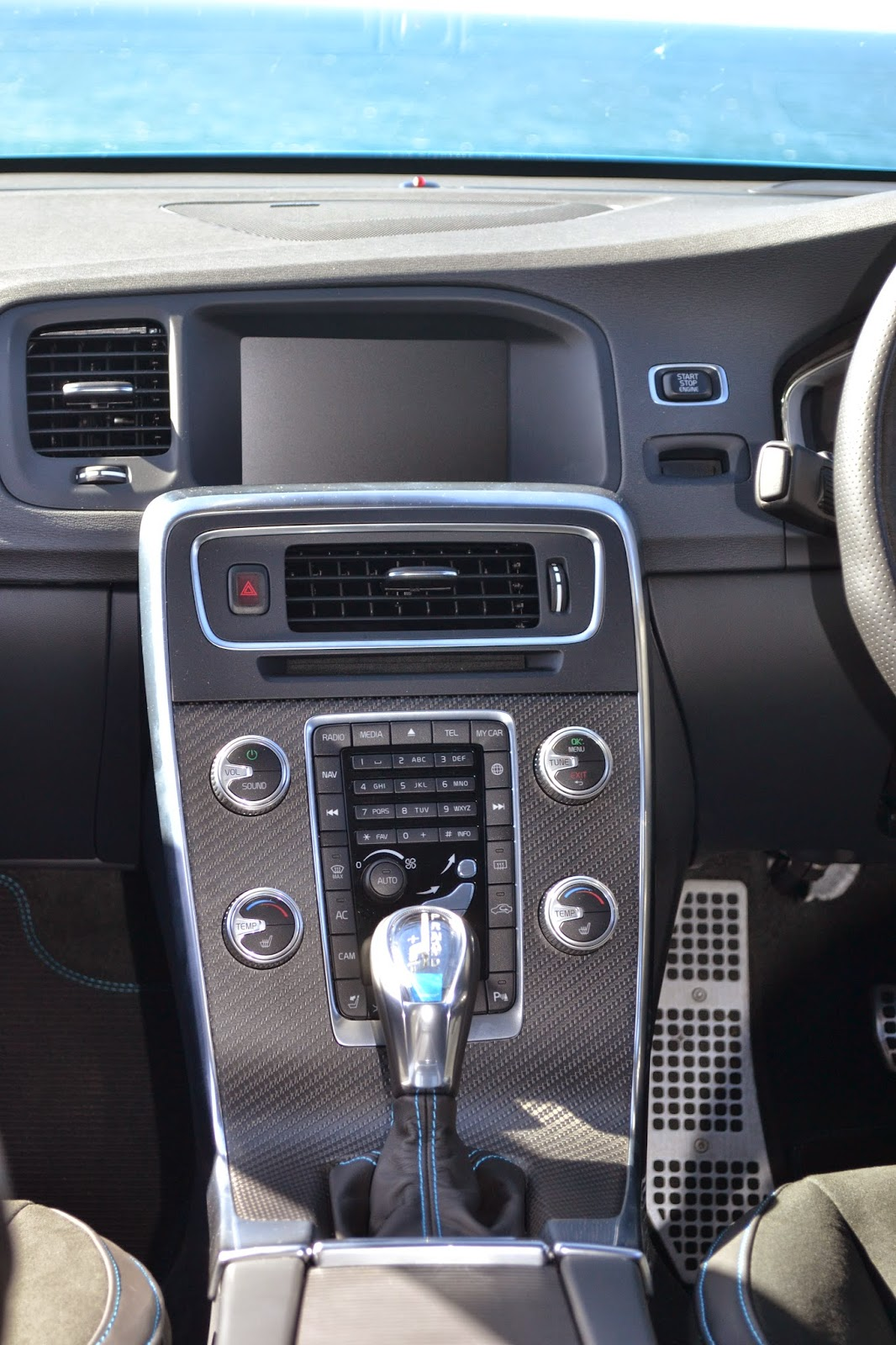 Another look at the centre console