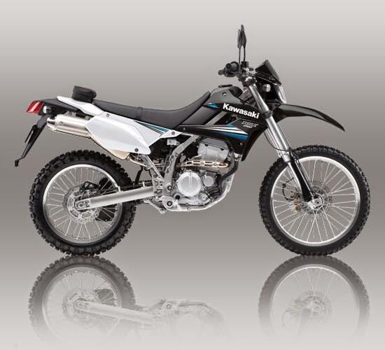 Kawasaki KLX 250 Hijau