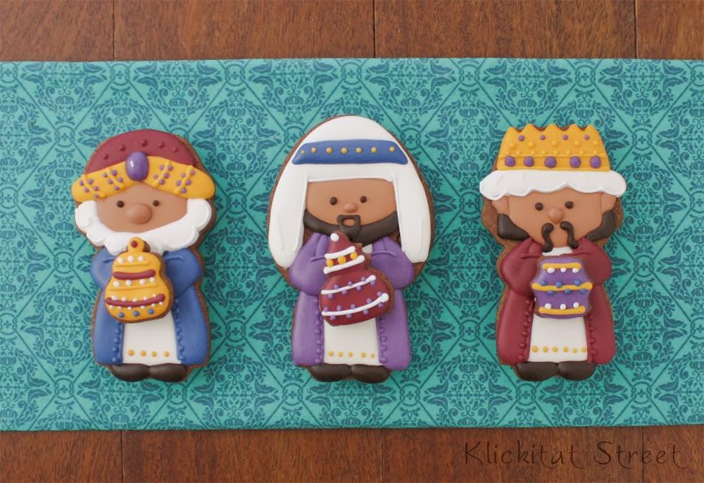 Three Wise Men Christmas Cookie Tutorial Klickitat Street